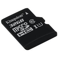 Карта памяти MicroSD 32Gb Kingston (SDCS/32GB microSDHC Class 10 UHS-I U1 Canvas Select (SD адаптер) 80MB/s)